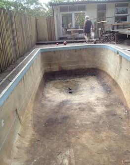 11d - pool renovation. pool painting - residential - sydney NS