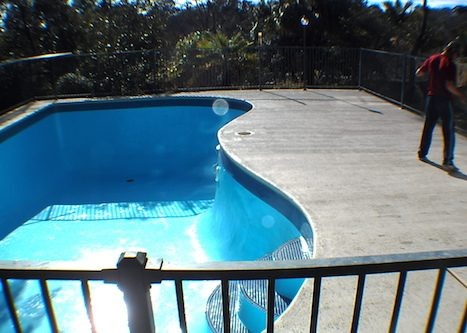 12i - pool renovation. pool painting - residential - sydney NS
