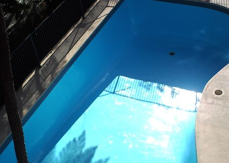 12n - pool renovation. pool painting - residential - sydney NS