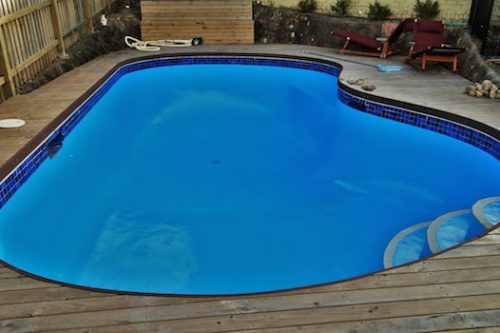 12p - pool renovation. pool painting - residential - sydney NS