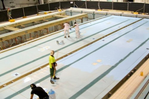 1b - olympic pool - homebush - pool painting & renovation