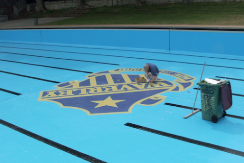 2 - Waverly college - commercial pool renovation