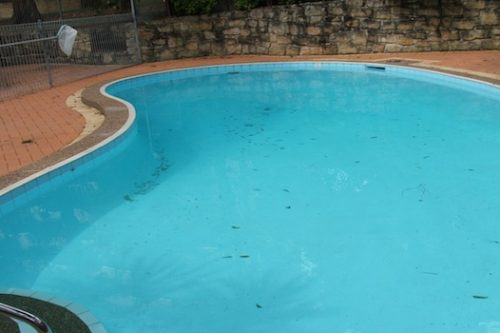 4c - pool renovation. pool painting
