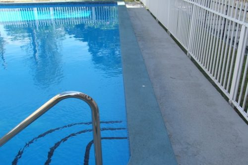 7a -pool renovation. pool painting - residential - Merrylands, NSW