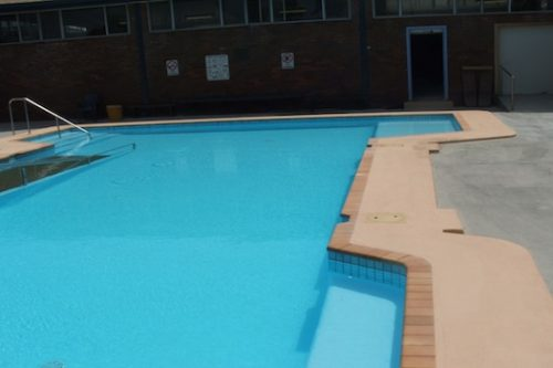 7b - pool renovation. pool painting - residential - Merrylands, NSW