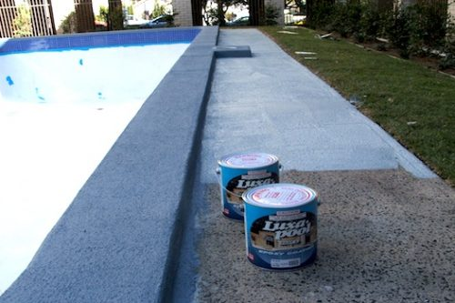 8b - pool renovation. pool painting - residential