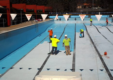 8g - olympic pool - Sydney - pool painting & renovation
