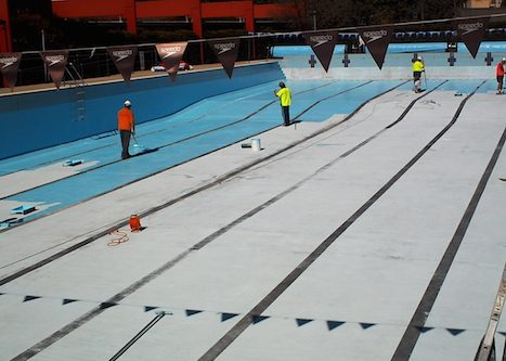 8h - olympic pool - Sydney - pool painting & renovation
