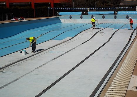 8i - olympic pool - Sydney - pool painting & renovation