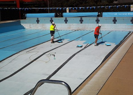 8j - olympic pool - Sydney - pool painting & renovation