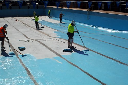 8n - olympic pool - Sydney - pool painting & renovation