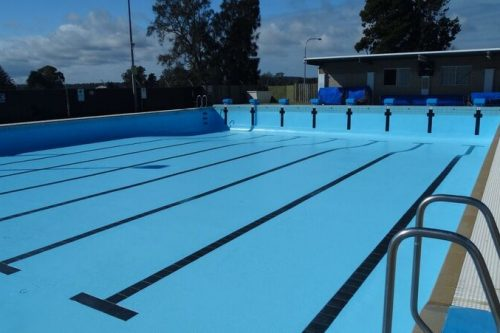 Moruya Council Pool Painted