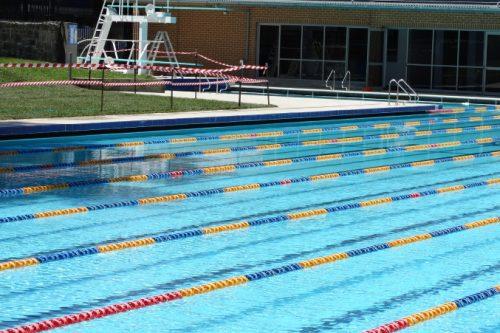 Waverly Pool Repainted